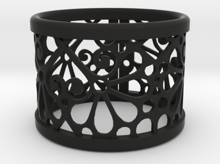 A small napkin ring with Mosaic-3b 3d printed