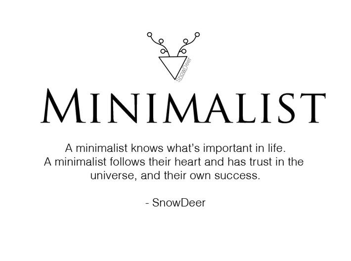 Minimalist  3d printed
