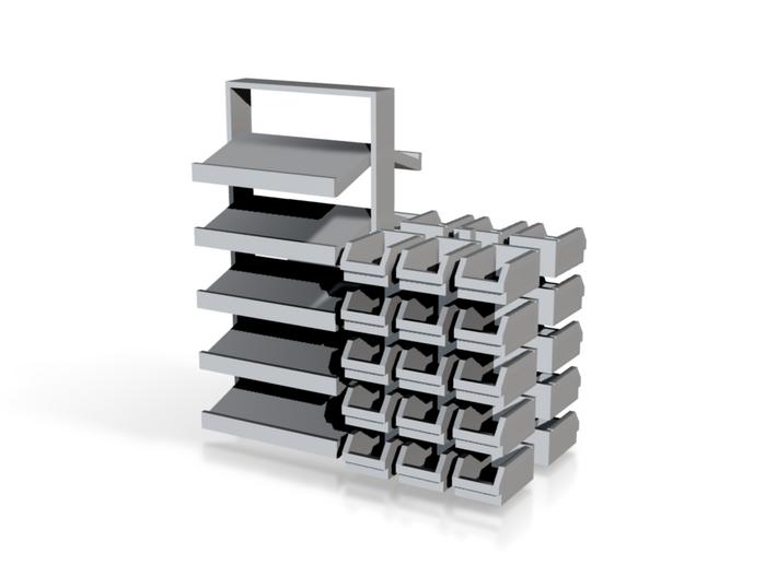 1/64 Rack Bins 3d printed