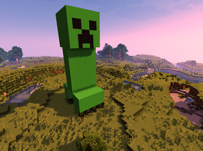 MineCraft Creeper 3d printed
