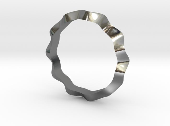 Swan Ring 6.5 US 3d printed