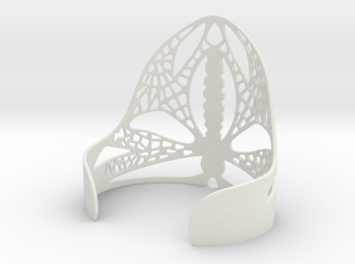 Dragonfly Cuff 3d printed