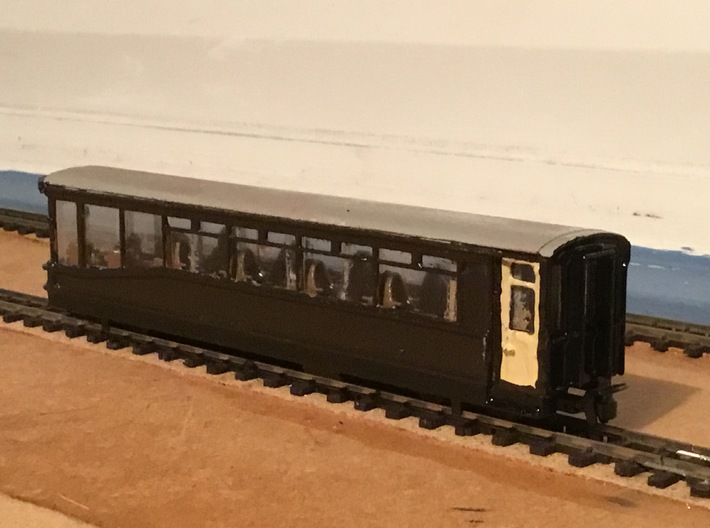 Ffestiniog Rly Superbarn observation coach NO.150 3d printed The finished product