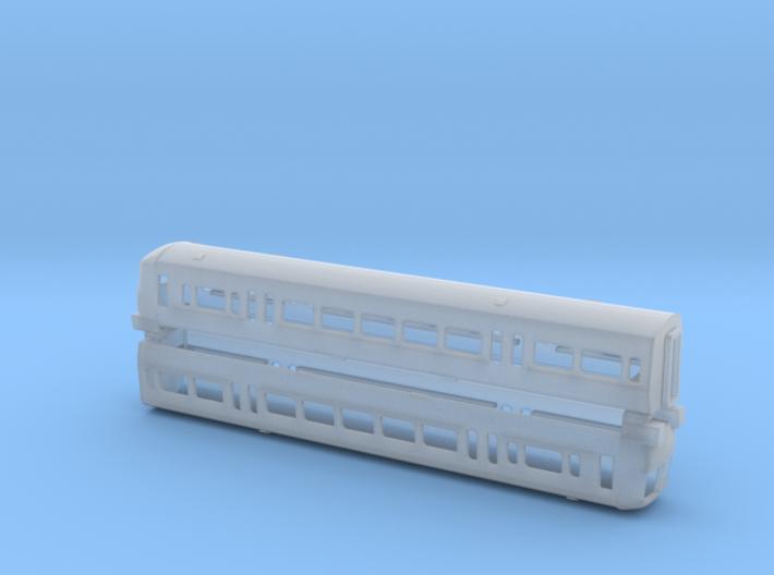 N Gauge Class 466 EMU 3d printed