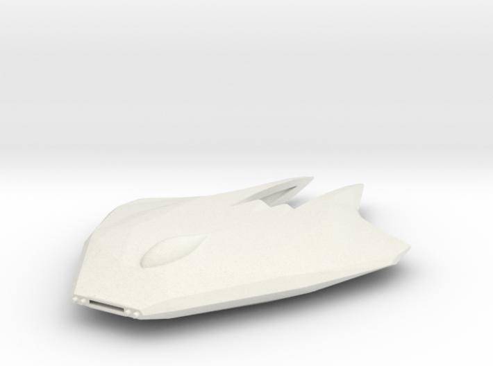 Katar-Class Fighter 3d printed