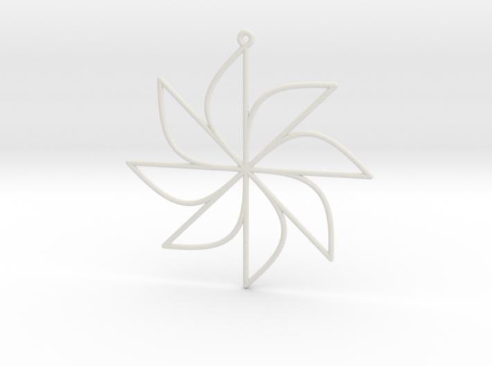 Sine Ornament 3d printed