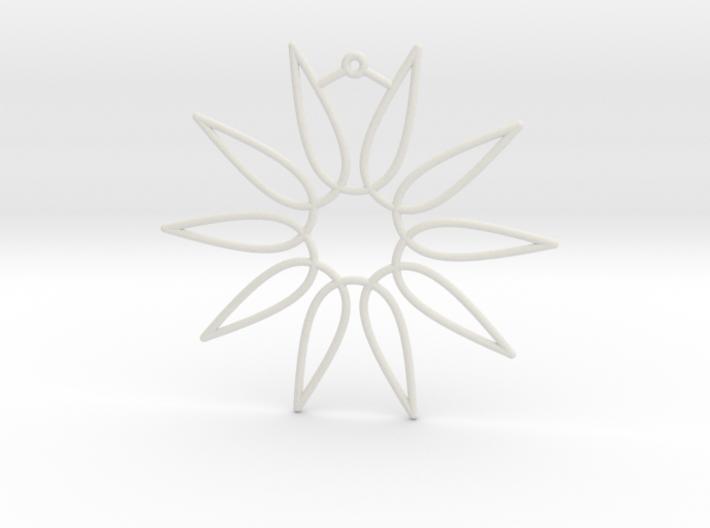 Secant Ornament 3d printed