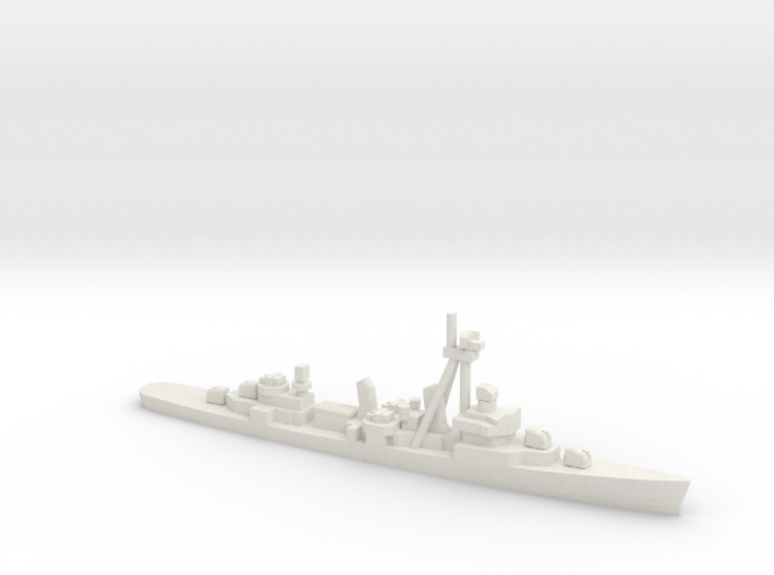 Fletcher-class destroyer Z1/Z3, 1/2400 3d printed