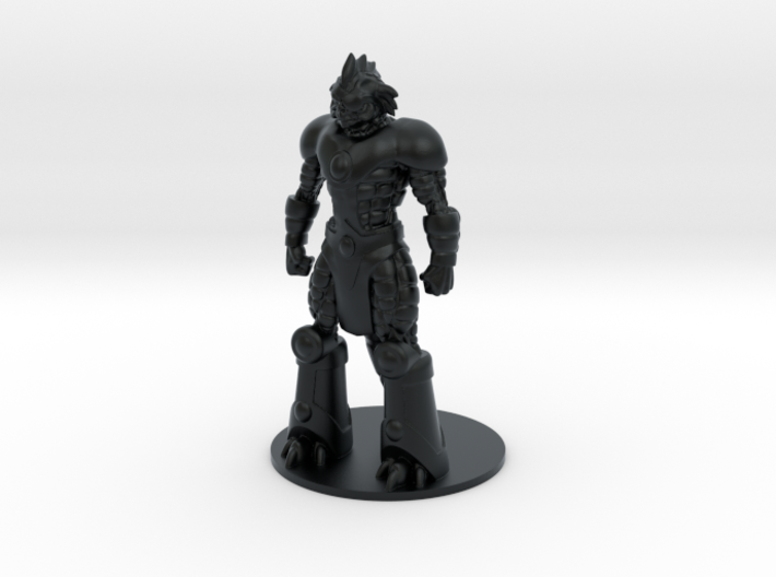 Slizardo 35mm Tall (Titan Master Scale) 3d printed Hi Definition Acrylate Render