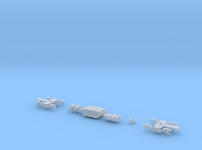 HOm MGB B4200 FUD-Parts 3d printed