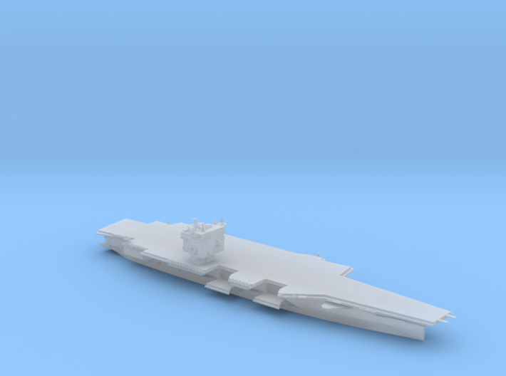 USS Enterprise CVN-65 in 1800 3d printed