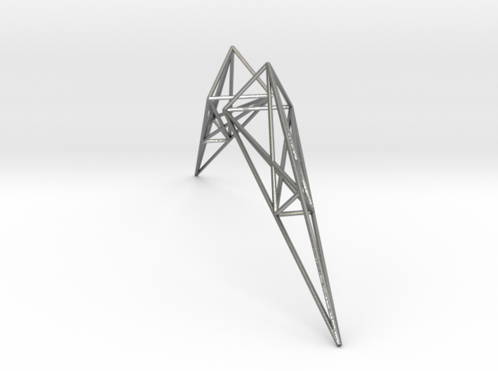 Pylon Earrings 3d printed