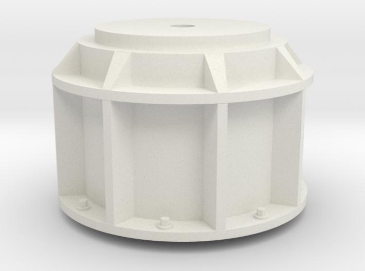 1 zu 24 Quad Flak Pedestal 20171129 3d printed