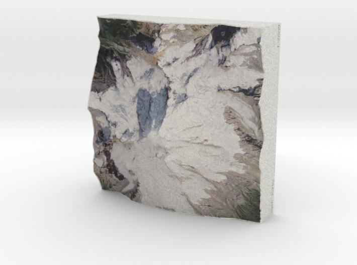 Mt. Baker, Washington, USA, 1:50000 Explorer 3d printed