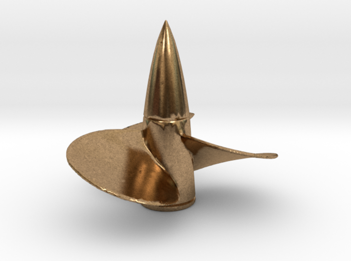 1/150 DKM Bismarck Propeller Right 3d printed