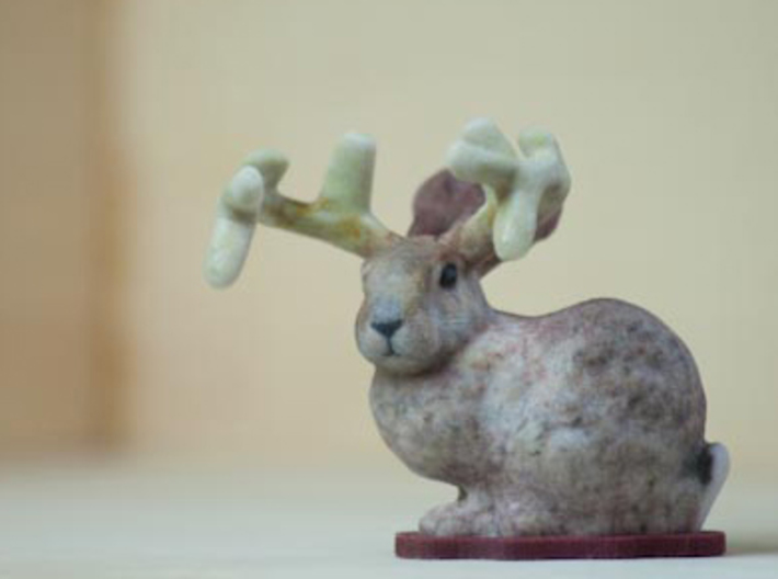 Stanford Buck Rabbit 3d printed The elusive Buck Bunny. Easy to care for. Lives happily in your home.
