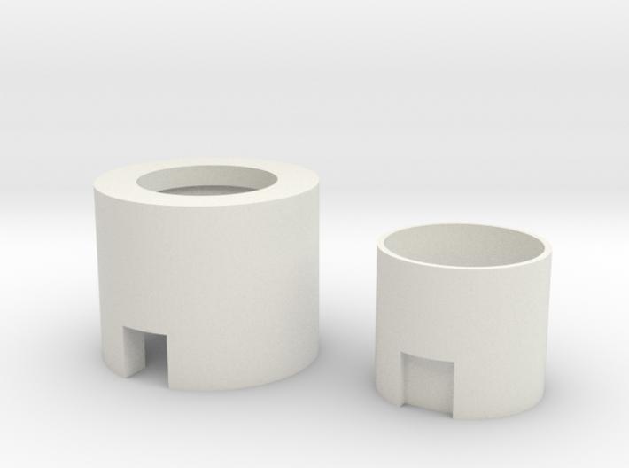 "Neopixel Hilt Plug 1"" for SH Ahsokas hilts 3d printed"