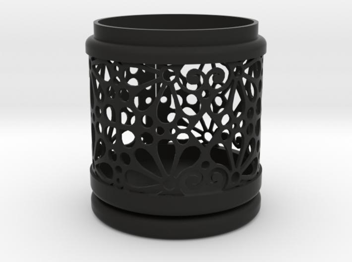Gift Box No. 1 with Mosaic-3 (filigree, high) 3d printed