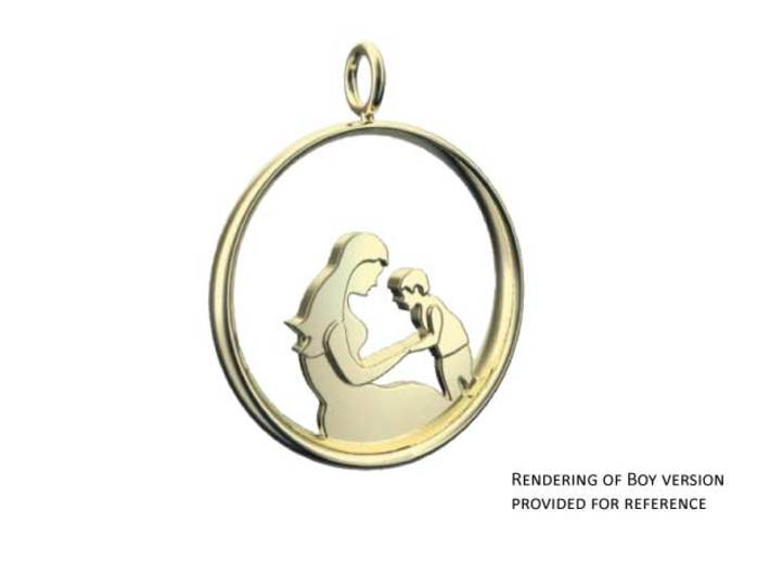 Mother son pendant 2 motherhood collection dckldr5ww by mother amp son pendant 2 motherhood collection 3d printed rendering of boy version since mozeypictures Gallery