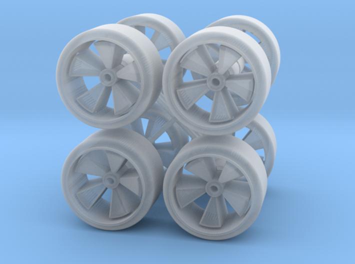Custom Hotwheel 78F (2 x 4 wheels) 3d printed