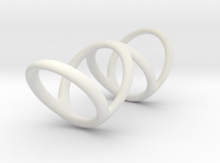 Ring for Bob L1 1 L2 1 D1 3 1-2 D2 5 D3 6 3d printed