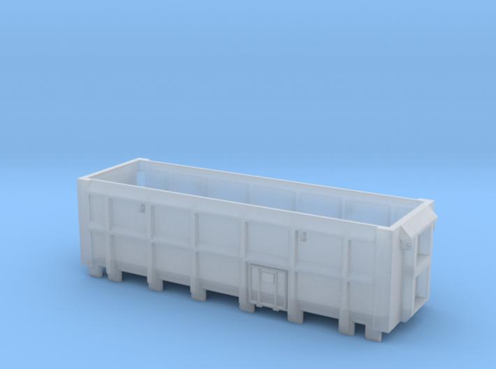 ASW Scrap Wagon PO-010d OO Gauge 3d printed