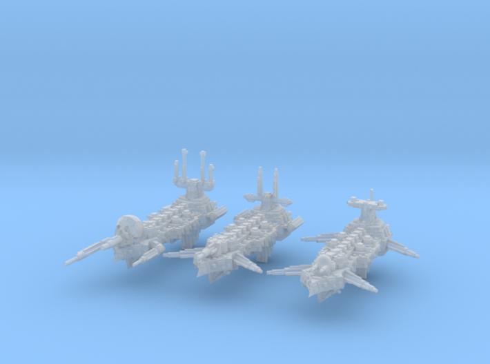Idolizer Frigates (3) 3d printed