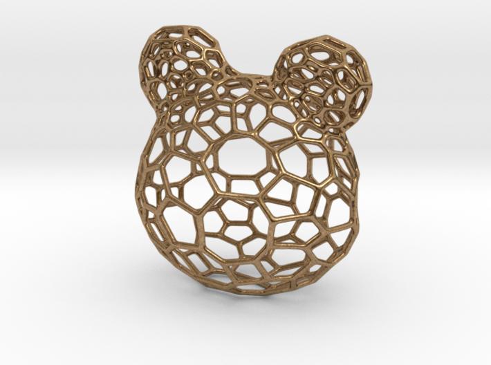 Teddy Bear Pendant 3d printed