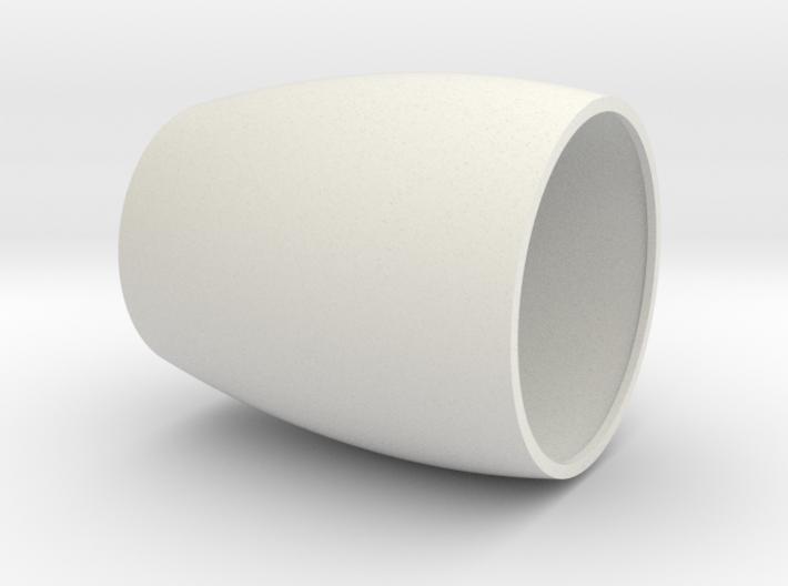 Speaker with jet engine design (part 1/3) 3d printed