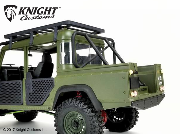 TR20006 D90 & D110 Pick up Roll bar 3d printed Shown installed, body and other parts sold separately.