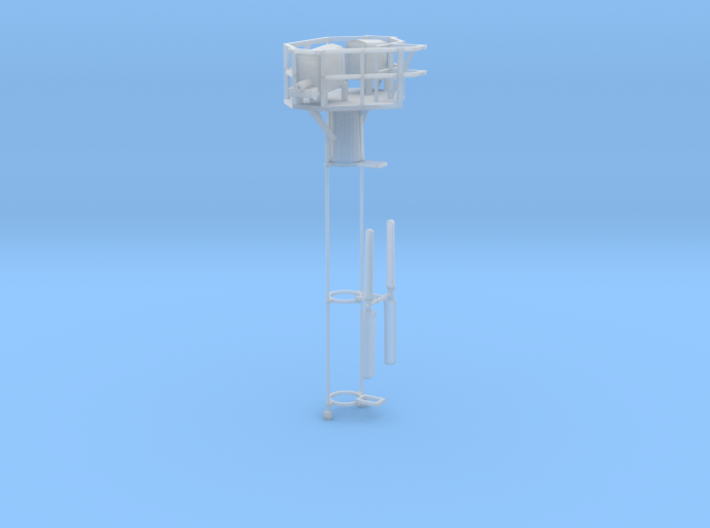 HO Tropic Breeze Without Pole and Ladder 3d printed