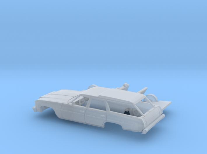 1/160 1976 Chevrolet Impala Station Wagon Kit 3d printed