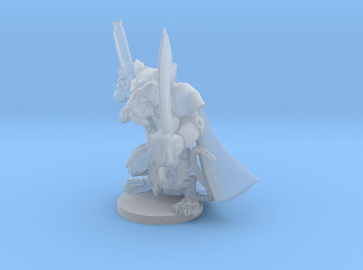 Captain Vurst - Mice and Mystics 3d printed