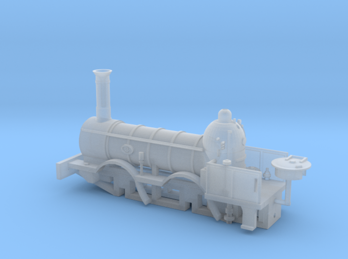 N Gauge 1846 Coppernob Loco Scratch Aid 3d printed