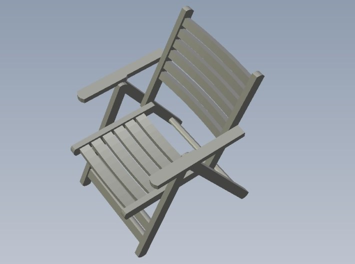 1/35 scale wooden chairs set B x 5 3d printed