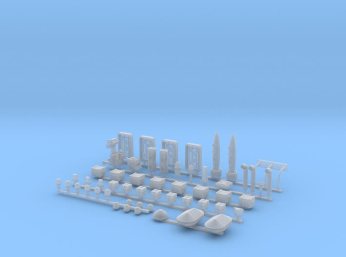 Docking Bay, 1:144 3d printed