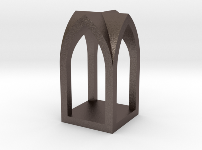 Gothic Groin Vault 3d printed