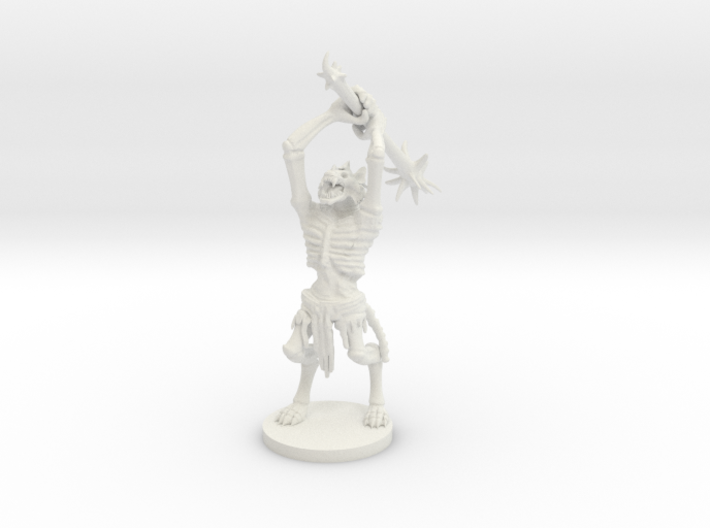 Gnoll Withering 3d printed