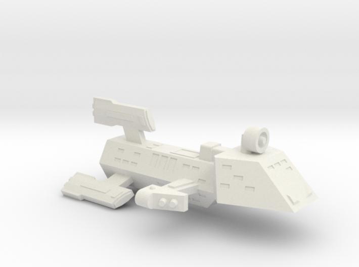 3125 Scale Kzinti FFK Frigate (C-9 Refit) SRZ 3d printed