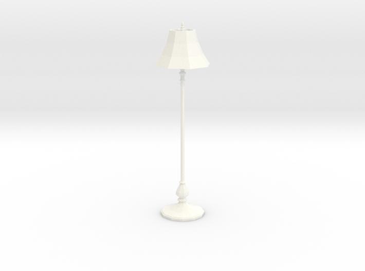 'Finer Fare' Floor Lamp 1:12 Dollhouse 3d printed