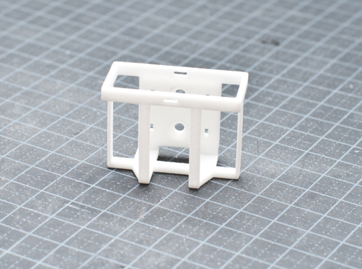 Single 20L Jerry Can Holder 3d printed White Strong & Flexible Polished.
