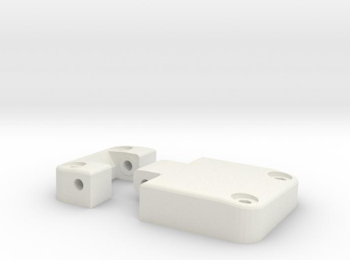 Functional door hinge left D90 D110 TRC 1/4 3d printed
