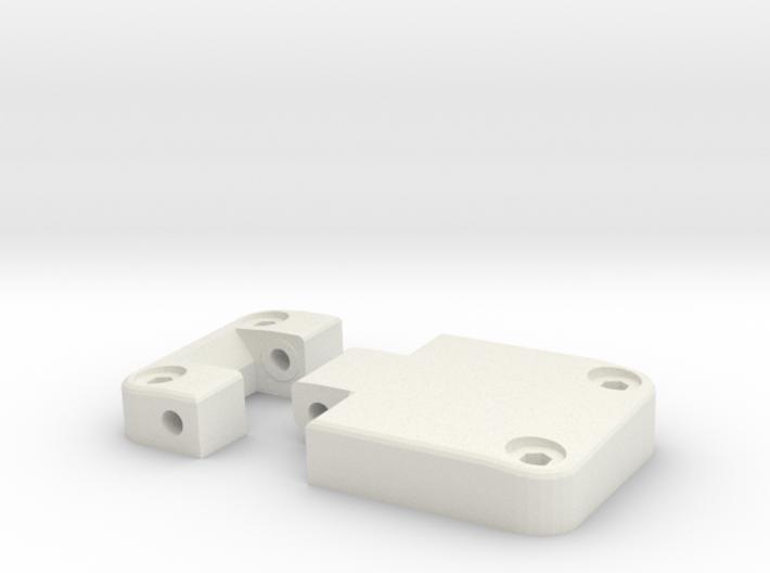 Functional door hinge right D90 D110 TRC 2/4 3d printed