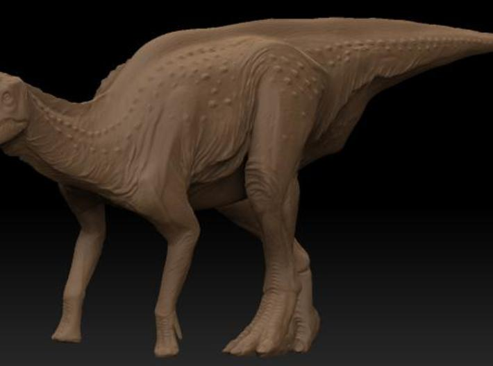 Female Lambeosaurus m. Standing Medium 3d printed Description