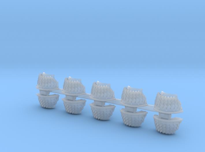 5x Snake Scales = Cataphractii Shoulder Sets 3d printed