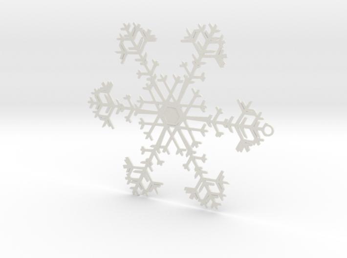 Snowflake Ornament - 8675309 3d printed