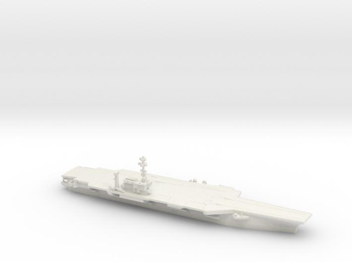 1/2400 USS Kitty Hawk CV-63 3d printed
