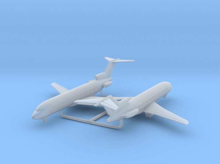 1/700 727-200 w/Gear x2 (FUD) 3d printed