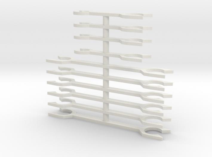 N Scale Fleischmann TEE Coupler Bars 3d printed