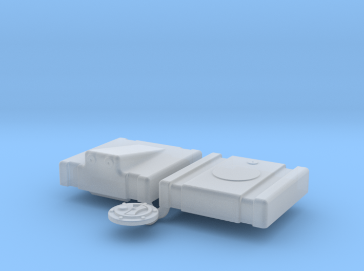 1/64 Fuel Cell Jaz 5gal 13 13 8 Sump 3d printed